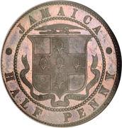 1 penny - Victoria – revers