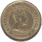 1 farthing - Edward VII – avers