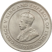 1 penny - George V – avers