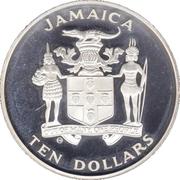 10 dollars (Coupe du monde de football Espagne 1982) -  avers