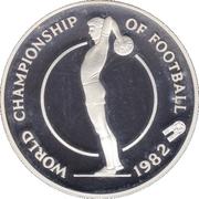 10 dollars (Coupe du monde de football Espagne 1982) -  revers