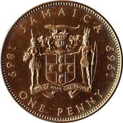 1 penny - Elizabeth II (Centenaire de la monnaie) – revers