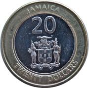 20 dollars -  Marcus Garvey -  avers