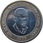 20 dollars -  Marcus Garvey -  revers