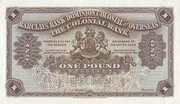 1 Pound (Barclays Bank) – avers