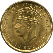 1 farthing - George VI – avers