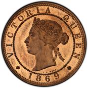 1 Penny - Victoria (piedfort) – avers