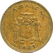 1 cent - Armoiries -  avers