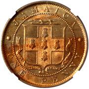1 penny - Edward VII – revers