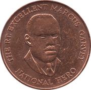 25 cents - Marcus Garvey -  revers
