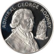 10 dollars Amiral George Rodney -  revers