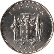 10 cents - Armoiries (non-magnétique) -  avers