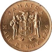 ½ penny - Elizabeth II – revers