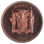 1 cent - Armoiries – avers