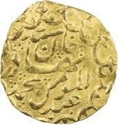1 Tilla - 'Abd al-Mu'min Khan – avers