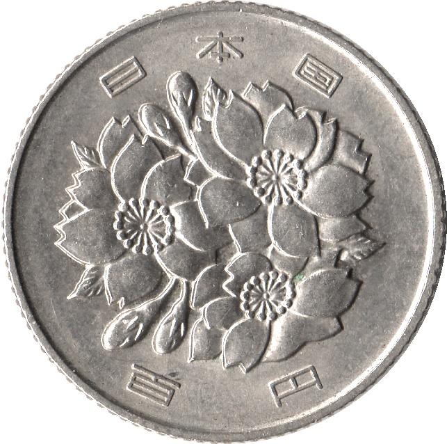 piece de monnaie 100 yen