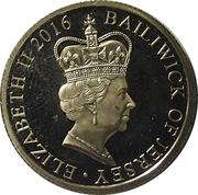 Bailwick of Jersey 2016 Gold penny – avers