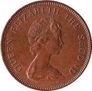 2 nouveaux pence Elizabeth II (2e effigie) – avers