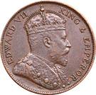 1/24 shilling Édouard VII – avers