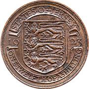 1/12 shilling George V (2e type) – revers