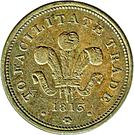 Half Penny (Bank Token) – avers