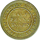 Half Penny (Bank Token) – revers