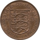 1/24 shilling George V (3e type) – revers