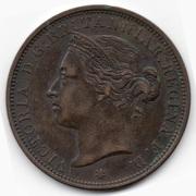 1/12 shilling Victoria (2e effigie) -  avers