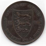 1/12 shilling Victoria (2e effigie) -  revers