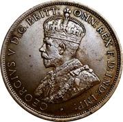 1/12 shilling George V (1er type) – avers
