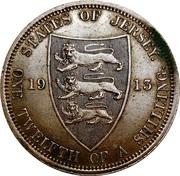 1/12 shilling George V (1er type) – revers