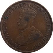 1/24 shilling George V (1er type) – avers