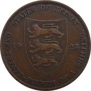 1/24 shilling George V (1er type) – revers