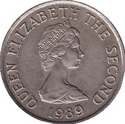 10 pence Elizabeth II (2e effigie, 2e type) -  avers