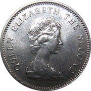 5 nouveaux pence Elizabeth II (2e effigie) -  avers