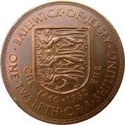 1/12 shilling Elizabeth II – revers