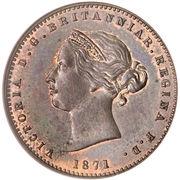 1/26 shilling Victoria (2e effigie) – avers