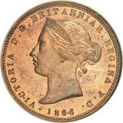 1/13 shilling Victoria (2e effigie) – avers