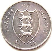 18 pence (jeton) – avers