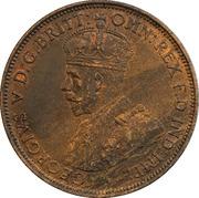 1/24 shilling George V (3e type) – avers