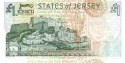 1 Pound 800th Anniversary of Jersey – revers