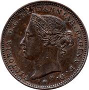 1/48 shilling Victoria – avers