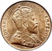 1/12 shilling Édouard VII – avers