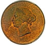 1/26 shilling - Victoria (Essai) – avers