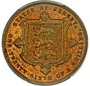 1/26 shilling - Victoria (Essai) – revers