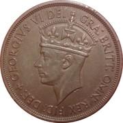 1/12 shilling - George VI (Libération) – avers