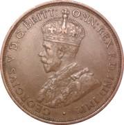1/12 shilling George V (3e type) – avers