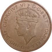 1/12 shilling George VI – avers