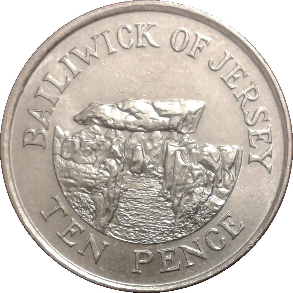 bailiwick of jersey coins 10 pence
