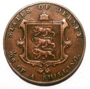 1/26 shilling Victoria (1ère effigie) -  revers